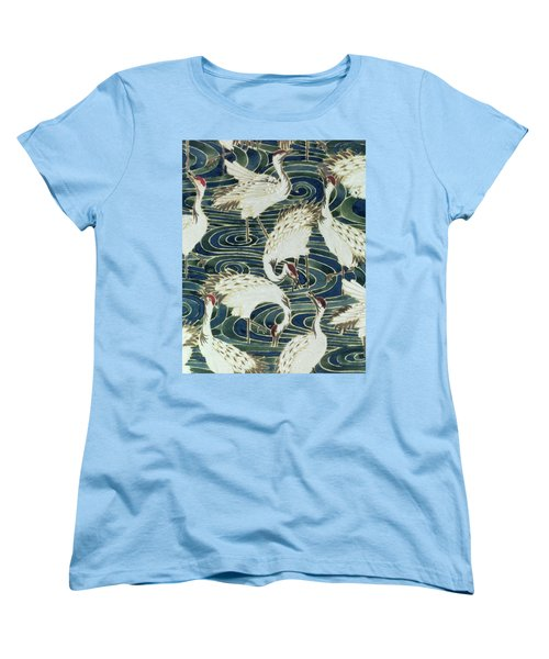 Vintage Wallpaper Design Women's T-Shirt (Standard Cut) by English School