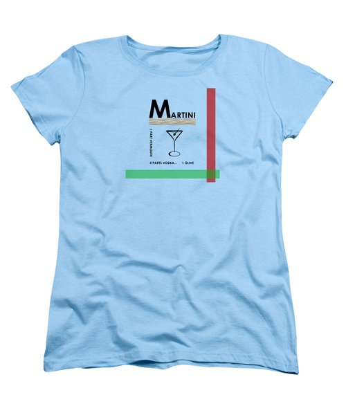 Vodka Martini Women's T-Shirt (Standard Cut) by Mark Rogan