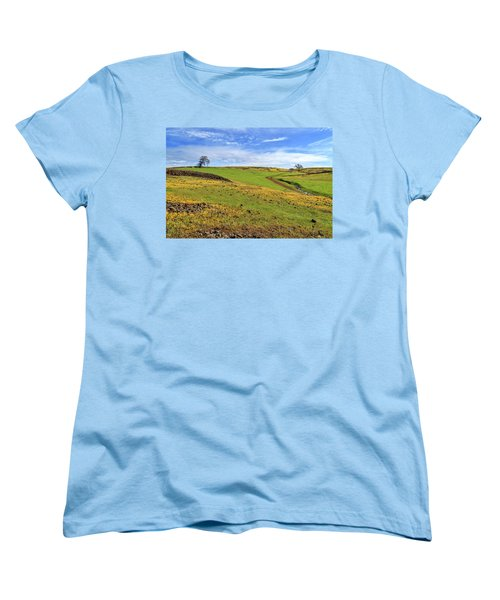 Women's T-Shirt (Standard Cut) featuring the photograph Volcanic Spring by James Eddy