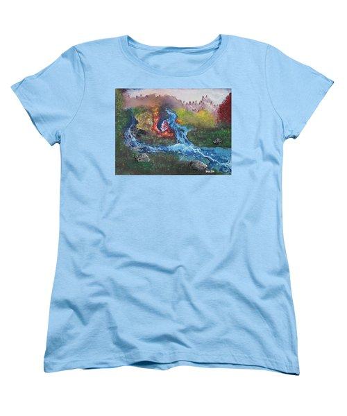 Volcano Delta Women's T-Shirt (Standard Cut) by Antonio Romero