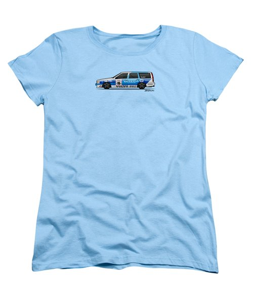 Volvo 850r Twr British Touring Car Championship  Women's T-Shirt (Standard Cut) by Monkey Crisis On Mars