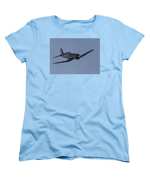 Vought Corsair Women's T-Shirt (Standard Cut) by Pat Speirs
