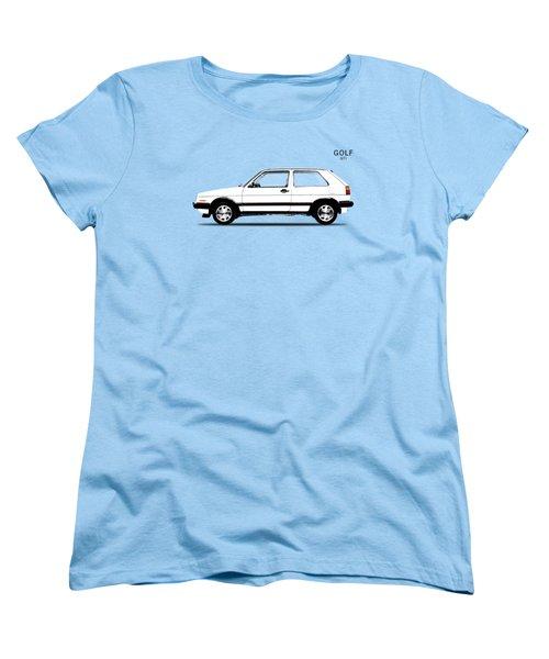 Vw Golf Gti Women's T-Shirt (Standard Cut) by Mark Rogan