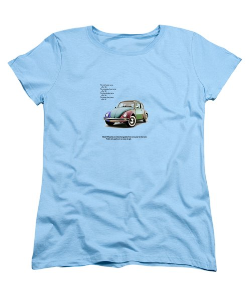 Vw Parts Women's T-Shirt (Standard Cut) by Mark Rogan