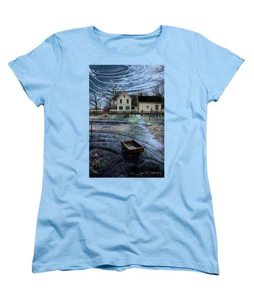 Wagon Women's T-Shirt (Standard Cut) by Joan Ladendorf