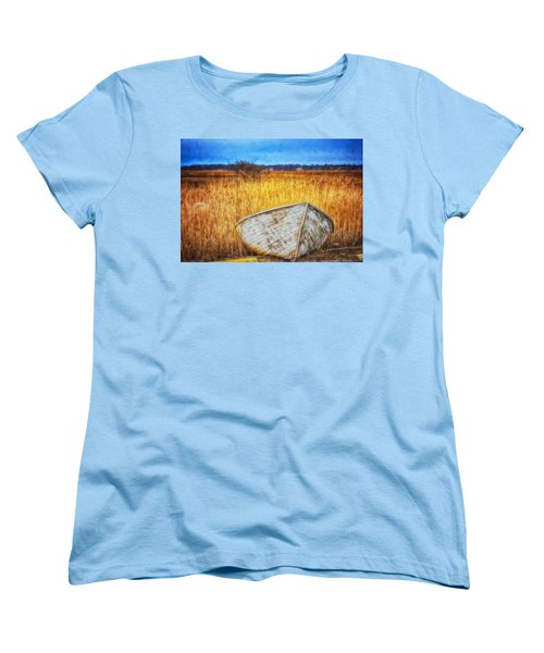 Waiting For Summer Women's T-Shirt (Standard Cut) by Tricia Marchlik