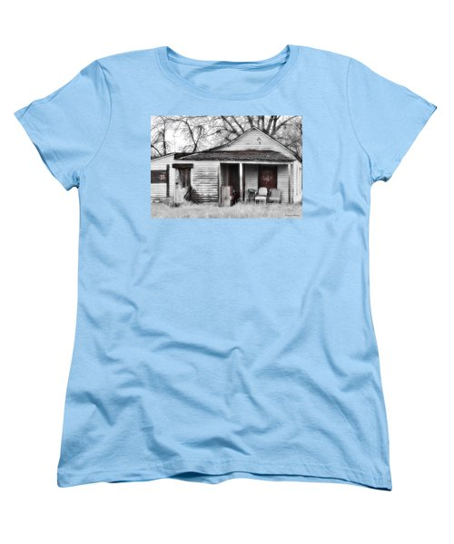 Waiting Women's T-Shirt (Standard Cut) by Susan Kinney