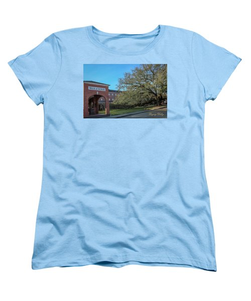 Women's T-Shirt (Standard Cut) featuring the photograph Walk Of Honor Entrance by Gregory Daley  PPSA
