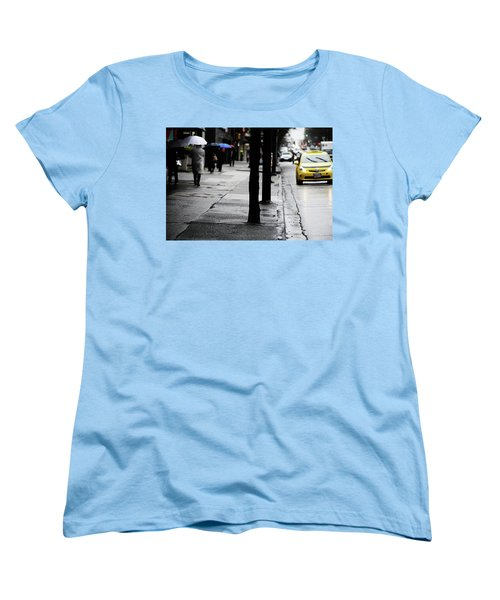 Walk Or Cab Women's T-Shirt (Standard Cut) by Empty Wall
