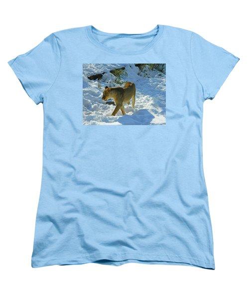 Walking On The Wild Side Women's T-Shirt (Standard Cut) by Emmy Marie Vickers