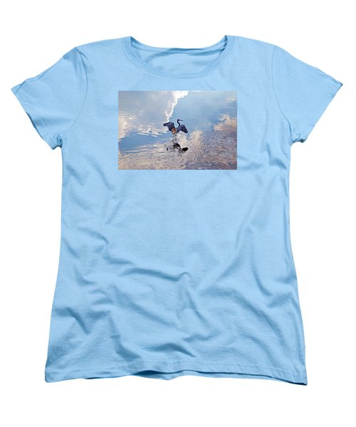 Walking On Water Women's T-Shirt (Standard Cut)