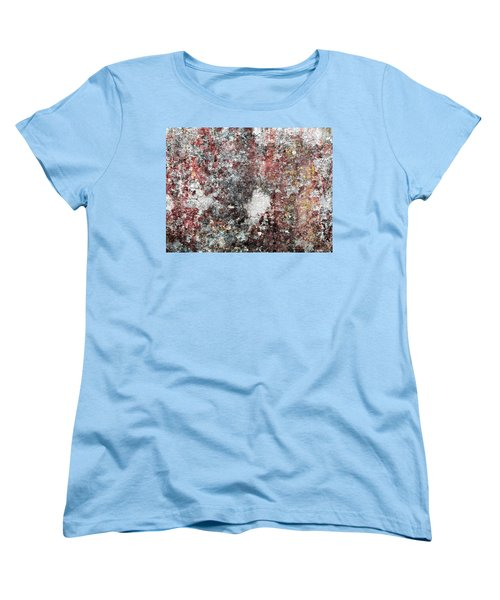 Wall Abstract 103 Women's T-Shirt (Standard Cut) by Maria Huntley
