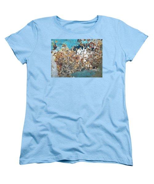 Wall Abstract 106 Women's T-Shirt (Standard Cut) by Maria Huntley