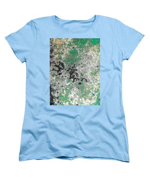 Wall Abstract 160 Women's T-Shirt (Standard Cut) by Maria Huntley