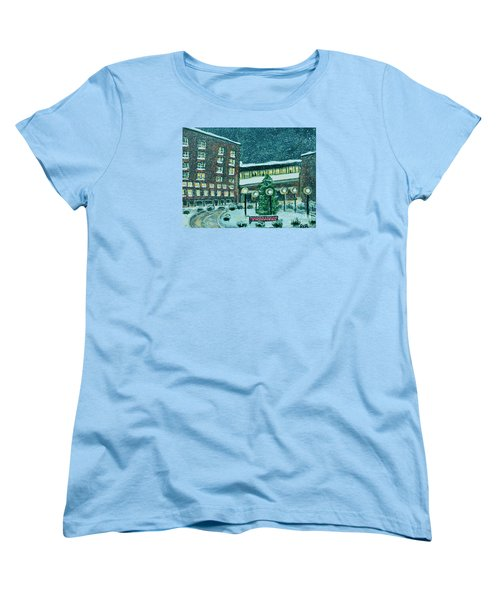 Waltham Hospital On Hope Ave Women's T-Shirt (Standard Cut) by Rita Brown
