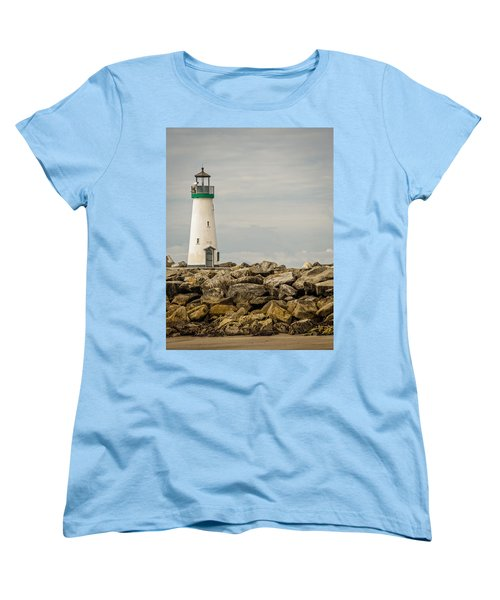 Walton Lighthouse Women's T-Shirt (Standard Cut) by James Hammond