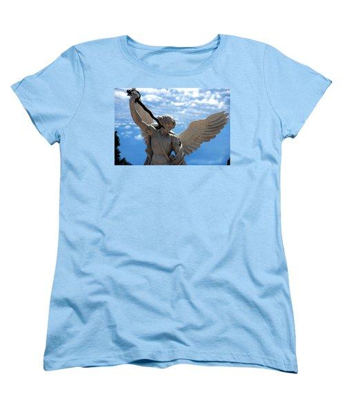 Warrior Angel Women's T-Shirt (Standard Cut)