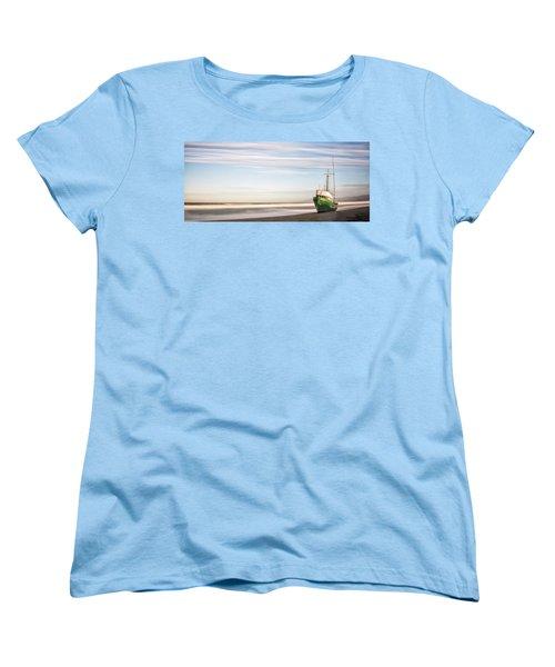 Washed Ashore Women's T-Shirt (Standard Cut) by Jon Glaser