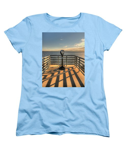 Watching Over The Bay Women's T-Shirt (Standard Cut) by Gary Slawsky