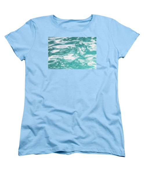 Water Abstract 001 Women's T-Shirt (Standard Cut) by Rich Franco
