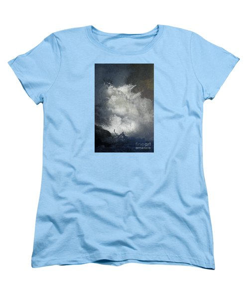 Water Fury 3 Women's T-Shirt (Standard Cut) by Jean Bernard Roussilhe