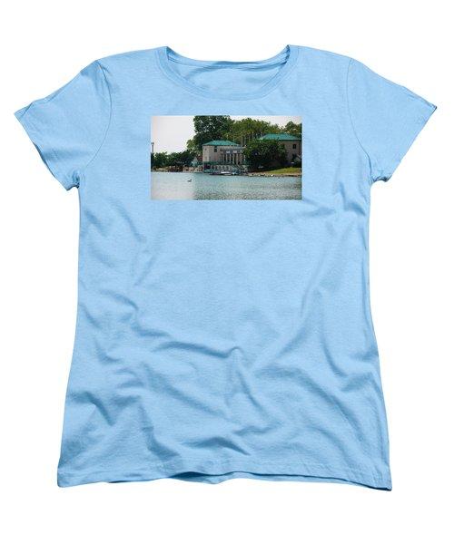 Waterfront Women's T-Shirt (Standard Cut) by Jose Rojas