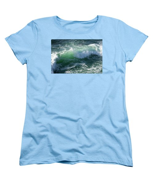 Wave At Montana De Oro Women's T-Shirt (Standard Cut)
