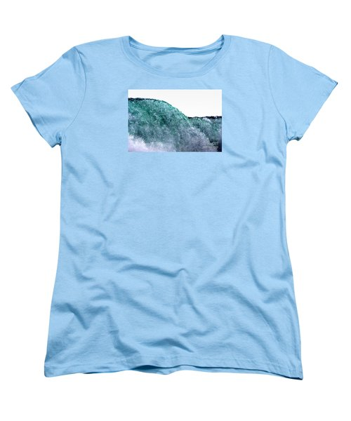 Women's T-Shirt (Standard Cut) featuring the photograph Wave Rider by Dana DiPasquale