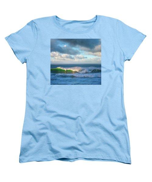 Women's T-Shirt (Standard Cut) featuring the photograph Wave Length by Darren White