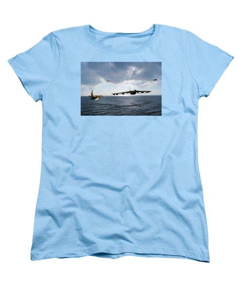 Waverunner Women's T-Shirt (Standard Cut) by Peter Chilelli