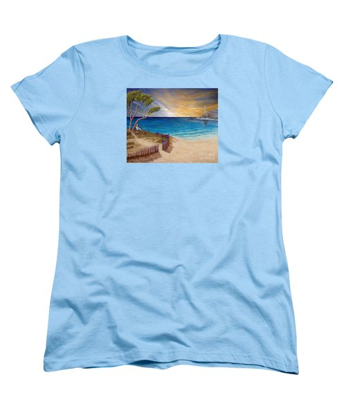 Way To Escape Women's T-Shirt (Standard Cut) by Kimberlee Baxter