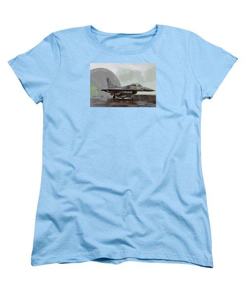 Weather Day Women's T-Shirt (Standard Cut) by Walter Chamberlain