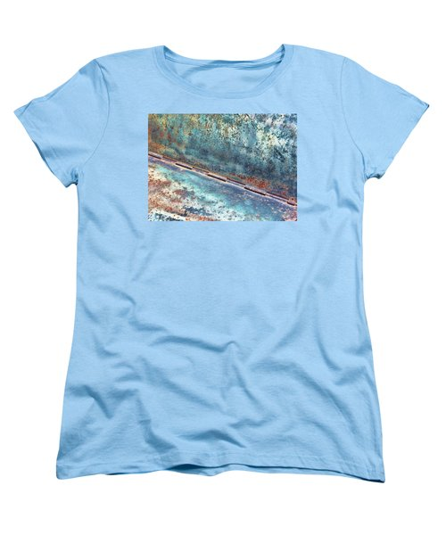 Weathered Women's T-Shirt (Standard Cut) by Kathy Bassett