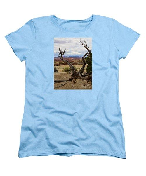 Weathered Women's T-Shirt (Standard Cut) by Steven Parker