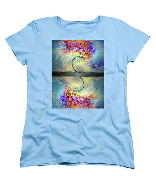 Women's T-Shirt (Standard Cut) featuring the photograph Weathering The Storm by Tara Turner