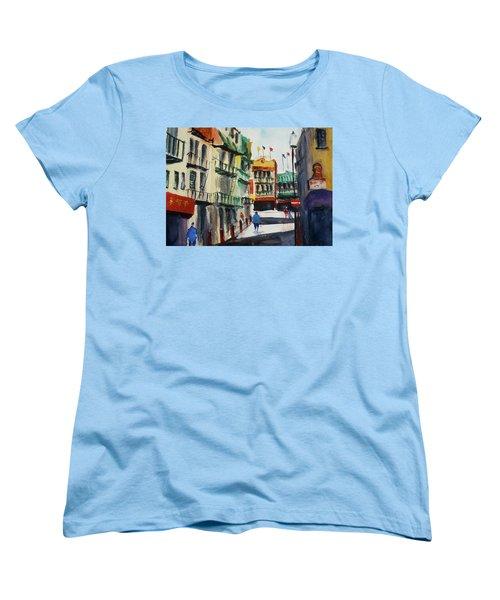 Waverly Place Women's T-Shirt (Standard Cut) by Tom Simmons