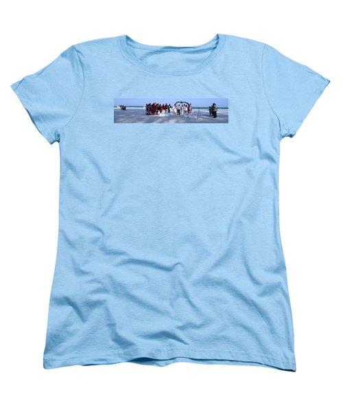 Wedding Complete Panoramic Kenya Beach Women's T-Shirt (Standard Fit)