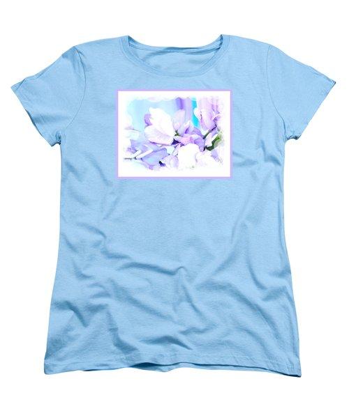 Wedding Flower Pedals Women's T-Shirt (Standard Cut) by Marsha Heiken