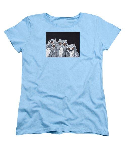 Wee Owls Women's T-Shirt (Standard Cut)