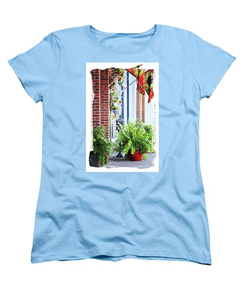 Welcome Women's T-Shirt (Standard Cut) by Lena Wilhite