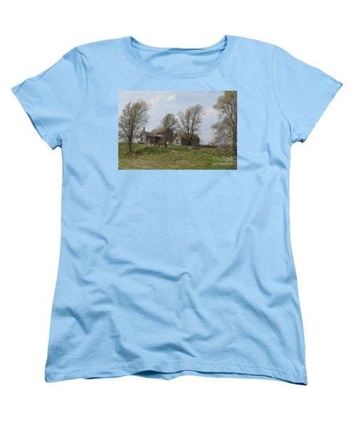 Welcome To The Farm Women's T-Shirt (Standard Cut) by Renie Rutten