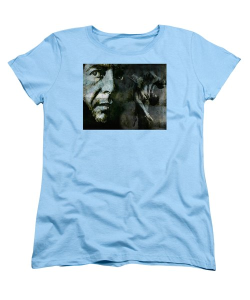 Women's T-Shirt (Standard Cut) featuring the painting Well , I've Heard There Is A Secret Chord by Paul Lovering