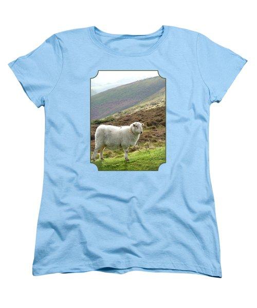 Welsh Mountain Sheep Women's T-Shirt (Standard Cut) by Gill Billington