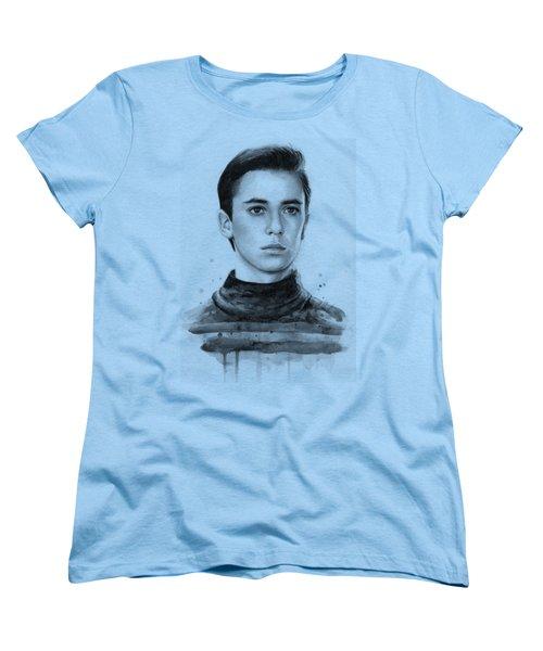Wesley Crusher Star Trek Fan Art Women's T-Shirt (Standard Fit)