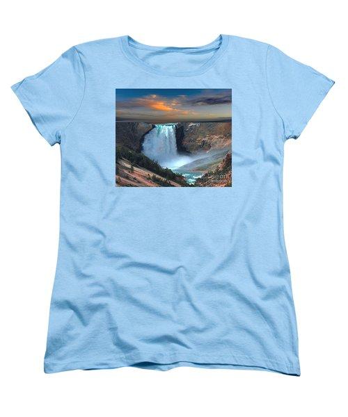 Wet Beauty Women's T-Shirt (Standard Cut) by Rod Jellison