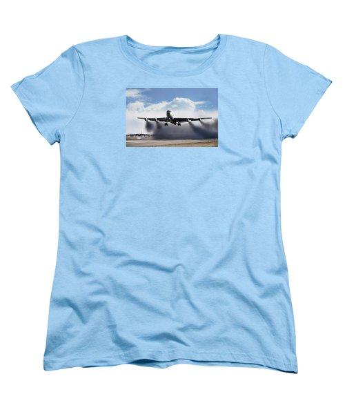 Wet Takeoff Kc-135 Women's T-Shirt (Standard Cut) by Peter Chilelli