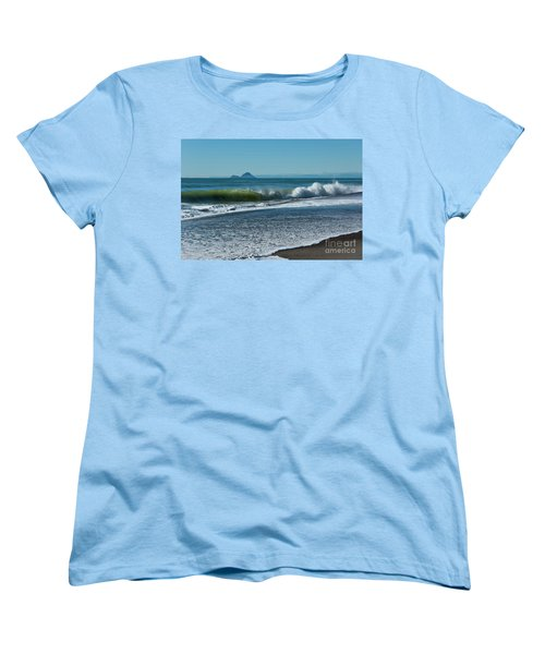 Women's T-Shirt (Standard Cut) featuring the photograph Whale Island by Werner Padarin