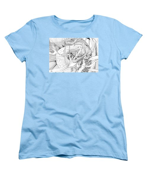 What Lies Within Women's T-Shirt (Standard Cut) by Charles Cater