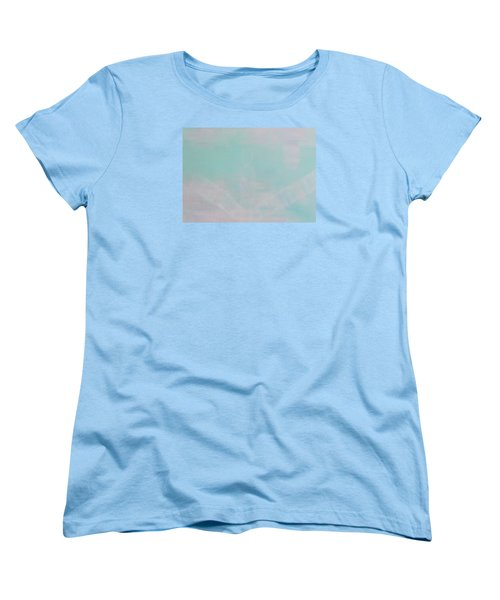 Women's T-Shirt (Standard Cut) featuring the painting What's The Next Step? by Min Zou