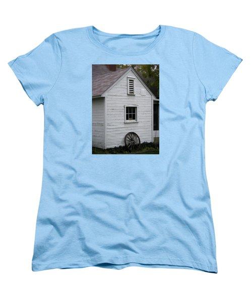 Wheel Women's T-Shirt (Standard Cut) by Frank J Casella